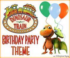 Dinosaur Train Birthday Party Theme