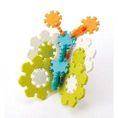 Eduplay, IcyIce Bausteine, 28 große und 28 kleine Bausteine in 4 Farben, Eisblumen und Schneeflocken, dreidime | KC0005 / EAN:4260372716428