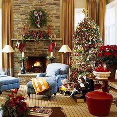 christmas living rooms christmas room christmas interiors country christmas christmas holidays