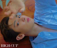 Chanyeol photo shoot for High Cut magazine Baekhyun Chanyeol, Aqua Di Parma, Kpop, Luhan And Kris, Future Goals, Chanbaek, High Cut, Boy Bands, Parks