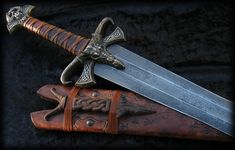 Passion Never Dies : Dragon Skull Art Sword by Fable Blades Brendan Olszowy