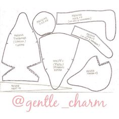 Free Mouse Pattern - Gentle Charm 2/2
