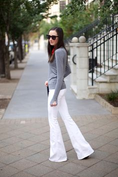 fashion-blogger-flared-jeans-outfits