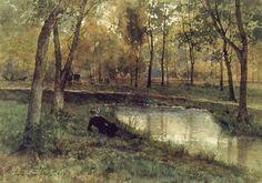 Landscape Painting by Swedish Artist Anna Gardell-Ericson