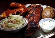 Ribs and BBQ Chicken from Nick's House of Ribs in Ocean City, MD #ocmd