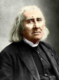 1886. Liszt Ferenc utolsó ismert fényképe
