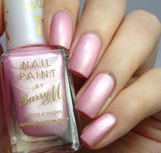 Brit Nails: Barry M Blossom - silk. Loving this colour, perfect to go with my dress :)))))