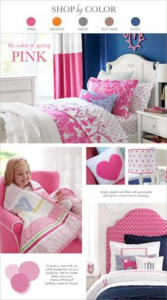 Shop by color: pink