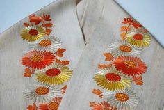 桜に椿…刺繍半襟入荷! | kimono sarasa