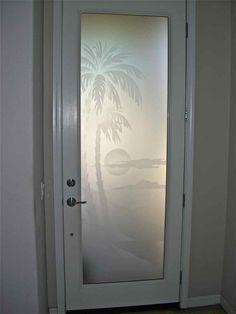 etched glass door frosted decorative doog glass designs
