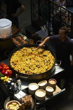 Great paella at Covent Garden, London UK