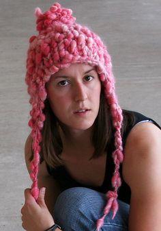 Ravelry: Pixie Dust Ear Flap Hat pattern by Jenn Kinzel