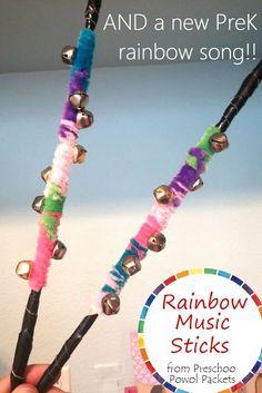 Rainbow Preschool Music Craft & Song