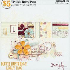 LOLLY BAG - PU by {Bellisae Designs}