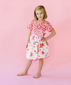 Take a look at this Cutie Cake Dress - Toddlers and Girls by Jelly the Pug on #zulily today!