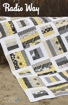 Radio Way - Quilt Pattern   Jaybird Quilts