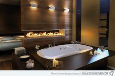 15 Ultimate Luxurious Romantic Bathroom Designs