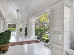 American Colonial Architecture, Grand Entryway, Windermere Real Estate, Parker House, Side Porch, Mansions Homes, Seattle Washington, Neoclassical, Bay Window