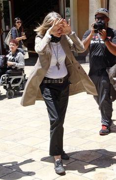 PEEK A BOO! Hollywood star Diane Keaton seen trying to avoid being photographed while shopping a the Grove Shopping Centre in Hollywood