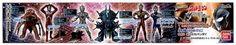 "Ultraman - 4"" Part 1 Tiga Gashapon Capsule Figure Set of 6 by Bandai. $34.99. Figures approx. 2.5"" to 3.5"" in height. DARY / ULTRSEVEN / ULTRAMAN-LEGEND GUROKER-BISHOP ULTRAMAN-JUSTICE (Crusher-Mode) /ULTRAMAN-COSMOS (Future-Mode)."