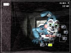 Five Nights at Freddy's 2 ... I almost peed when I saw this... :()
