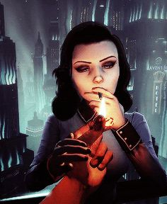 Elizabeth, Bioshock Infinite Burial At Sea