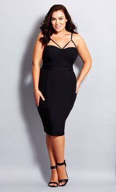 Plus Size Undress Me Dress - City Chic