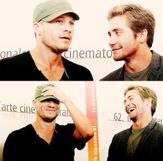 Heath Ledger & Jake Gyllenhaal