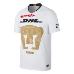 2018-19 Cheap Jersey Tigres UANL Home Replica White Shirt  CFC376  78a5db1b3