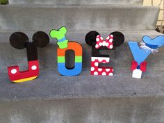 Custom Handmade Mickey Mouse Clubhouse via etsy...i would LOVE to make this for eastons room!