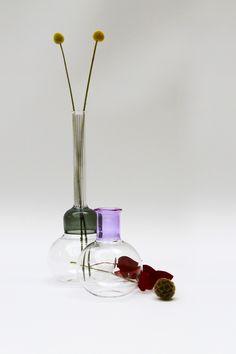 Vitro Vas: Violet by Sarah Colson Ltd made in United Kingdom (UK) on CrowdyHouse