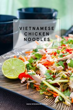 Are you drooling? I love that this bright, delicious recipe takes leftover chicken {or a BBQ chicken} into an amazing dinner. So much flavour and colour, and freshness! Yum! Vietnamese Chicken Noodles Recipe Prep time 10 minutes Cook time 0 minutes Total time 10 minutes Serves 4 INGREDIENTS 100 g vermicelli rice noodles 400 g...ReadMore