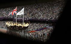 The Olympic stadium during the the London 2012 Olympic Games