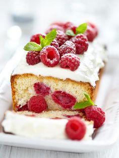 Cake au thé et à la framboise - Recette de cuisine Marmiton : une recette