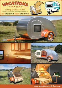 old teardrop trailers | teardrop trailer rentals custom builds Férias + família....