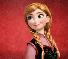 Frozen, Anna at Christmastime