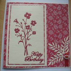 bella bouquet memory box die cards - Google Search
