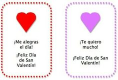 Spanish Valentines for Kids: Cards and Activities