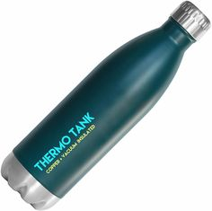 Thermo Tank Insulated Stainless Steel Water Bottle - Ice Cold 36 Hours! Vacuum   Copper Technology - 25 Ounce -- Click on the image for additional details.