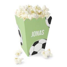 Fotball / Håndball - Lysgrønt Popcornbeger Popcorn Maker, Kitchen Appliances, Caramel, Creative, Diy Kitchen Appliances, Home Appliances