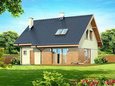 Zdjęcie projektu Armanda Mała WOK1055 Malaga, Ideas Para, Home And Garden, Outdoor Structures, Cabin, How To Plan, Mansions, House Styles, Home Decor