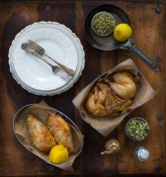 three little halves: The Bipolar Thomas Keller Chicken + Herbed Tabbouleh