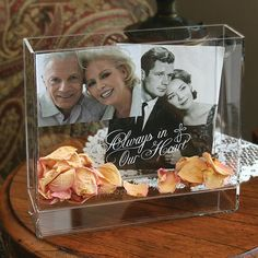 Personalized Memorial Box Frame by Beau-coup