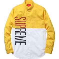 Supreme Competition Shirt (yellow)