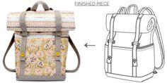 Wanderlust Rucksack PDF Sewing Pattern - Free Download