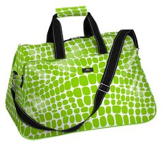 Hilary Duffle from Scout Travel Bag, Croc-O-Gator Green, $50.00