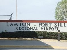 Lawton, OK : Lawton Airport. This is a very small airport.  But I enjoyed my stay with Curtis and Barbara.
