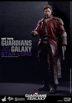 Marvel Star-Lord Sixth Scale Figure by Hot Toys | Sideshow Collectibles