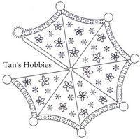 Umbrella Parchment Craft ~ Tan's Hobbies