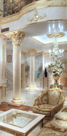 Discover the best gold decor inspiration for your next interior design project here. For more visit  http://www.maisonvalentina.net/